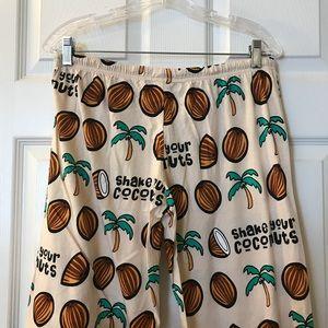 David & Goliath Intimates & Sleepwear - David & Goliath Shake Your Coconuts Pajama Pants